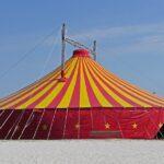 イベント用・倉庫用の巨大特注テントの修理箇所・方法